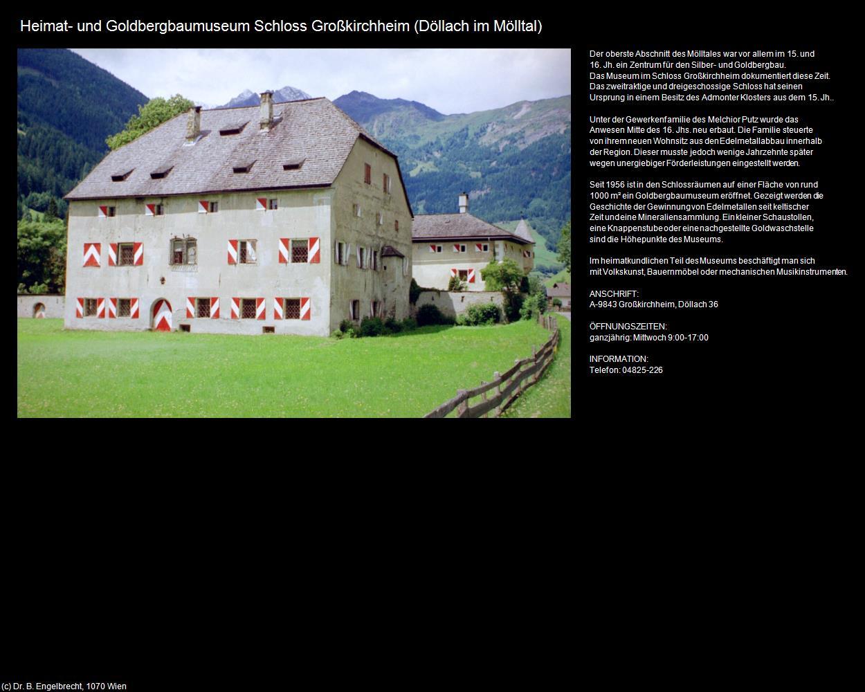 Heimat Und Goldbergbaumuseum Schloss Großkirchheim Döllach Im