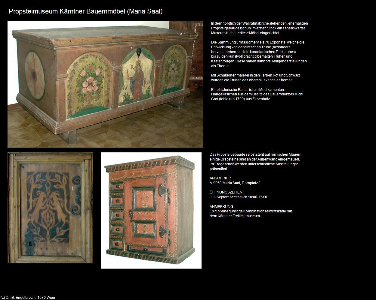 Propsteimuseum Maria Saal In Kulturatlas Kärnten