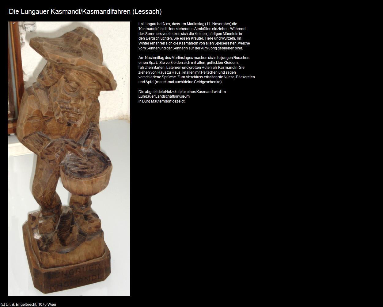 Die Lungauer Kasmandl Kasmandlfahren Lessach In Kulturatlas Salzburg
