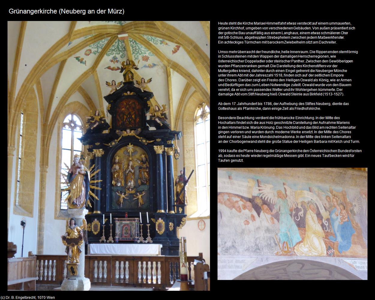 Grünangerkirche Neuberg An Der Mürz In Kulturatlas Steiermark